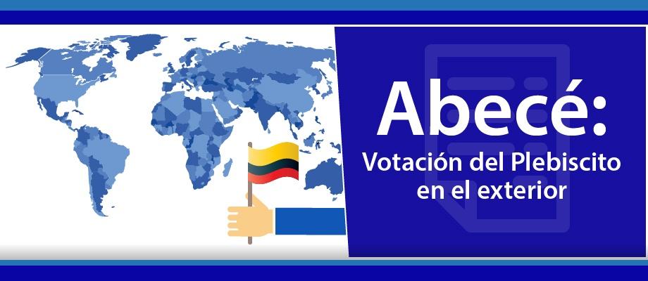 Votación Del Plebiscito En El Exterior