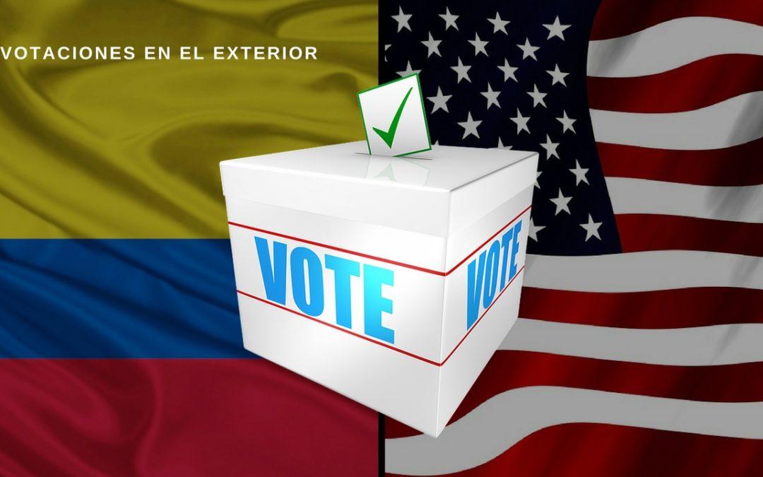 Colombia VOTACIONES EN EL EXTERIOR